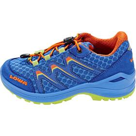 Lowa Maddox Low Shoes Kinder royal/orange